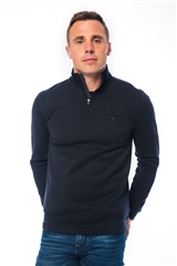 Xv Kings By Tommy Bowe Navy - Half Zip Sweatshirt