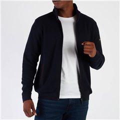 Bugatti Navy - Full Zip Sweatshirt