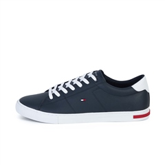 Tommy Hilfiger Navy - Essential Leather Sneaker