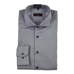 Eterna Grey - Twill Modern Fit Shirt