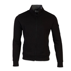 Calvin Klein Black - Techno Jaquard Full Zip Sweat Jacket
