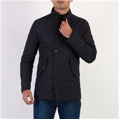 Skopes Navy - Quilted Pembridge Jacket