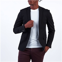 Marco Capelli Black - Sleek Kaleb Blazer