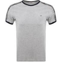 Light Grey - Jersey T-Shirt by Tommy Hilfiger