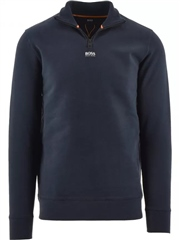 Hugo Boss Dark Blue - Zapper Sweatshirt