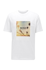 Hugo Boss White - Fully Recyclable T-Shirt