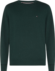 Tommy Hilfiger Green - Pima Cotton Cashmere Crew Neck Knit