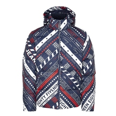 Tommy Jeans Navy - Down Filled Hooded Jacket