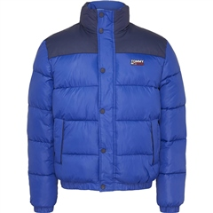 Tommy Jeans Blue - Corporate Puffer Jacket