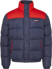 Tommy Jeans Navy - Corporate Puffer Jacket
