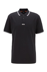 Hugo Boss Black - Chest Logo Contras Tip Regular Fit Polo