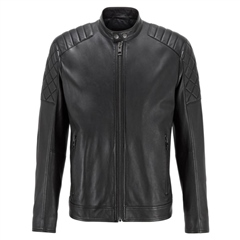 Hugo Boss Black - Jeean Slim Fit Leather Jacket