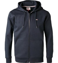 Tommy Jeans Navy - Tjm Regular Fleece Zip Hood