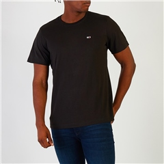 Tommy Jeans Black - Classic Jersey Cn Tee