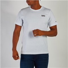 Tommy Jeans White - Rf Corporate Logo Cn Tee