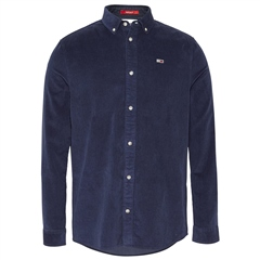 Tommy Jeans Navy - Long Sleeve Corduroy Shirt