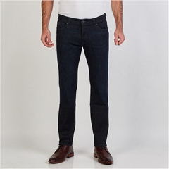 Navy - Maine Regular Fit Jeans by Hugo Boss
