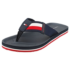 Tommy Hilfiger Navy - Hilfiger Corporate Flip Flop