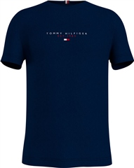 Navy - Essential Tommy Tee by Tommy Hilfiger