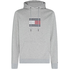 Tommy Hilfiger Grey - Tommy Luxury Hooded Sweatshirt