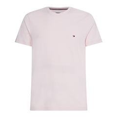 Tommy Hilfiger Light Pink - Stretch Slim Fit Tee