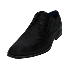 Bugatti Black - Licius Lace Up Shoe