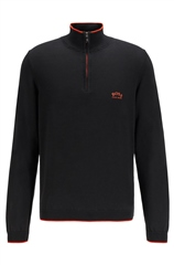 Hugo Boss Black - Ziston Half Zip Jumper