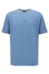 Blue - Tchup Relaxed Fit Tee Shirt by Hugo Boss