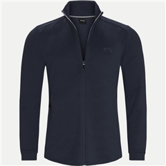 Hugo Boss Navy - Skaz Regular Fit Zip Through Jacket