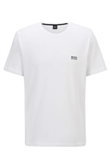 Hugo Boss White - Boss Logo Tee Shirt