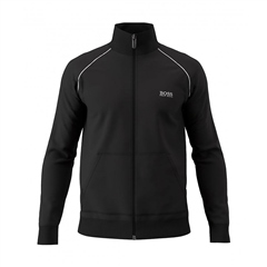 Hugo Boss Black - Chest Logo Sweatshirt Zip Through