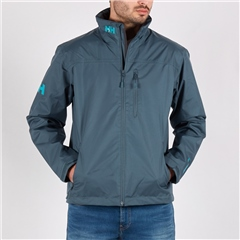 Teal - Crew Midlayer Jacket by Helly Hansen