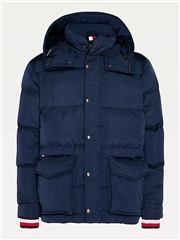 Tommy Hilfiger Navy - Tommy Down Hooded Jacket