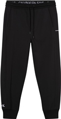 Calvin Klein Jeans Black - Side Branding Tracksuit Bottoms