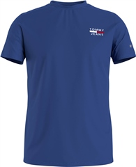 Tommy Jeans Cobalt - Tommy Chest Logo Tee Rf