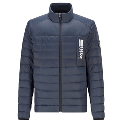 Hugo Boss Navy - Lightweight Water Repellent Down Jacket