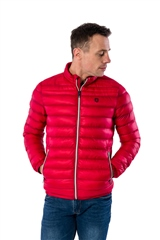 Xv Kings By Tommy Bowe Red - Lightweight Quilted Jacket
