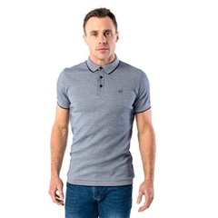 Xv Kings By Tommy Bowe Navy - Short Sleeve Polo Shirt