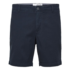 Selected Navy - Storm Flex Shorts