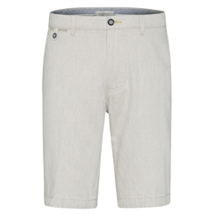 Bugatti Beige - Cotton Linen Casual Shorts