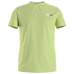 Tommy Jeans Lime - Tommy Chest Logo Tee Rf