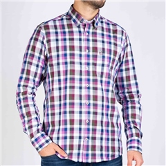 Bugatti Multi - Easy Care Check Shirt