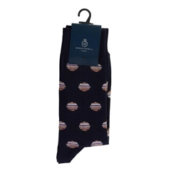Marco Capelli Navy - Capelli Color Ball Socks