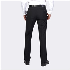 Marco Capelli Black - Classic Regular Fit Trousers