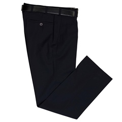 Marco Capelli Navy - Classic Regular Fit Trousers