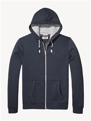 Tommy Jeans Navy - Original Zip Thru Hoodie