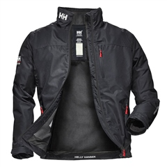 Navy - Crew Midlayer Jacket by Helly Hansen