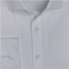 Calvin Klein White - Twill Easy Iron Fitted Shirt