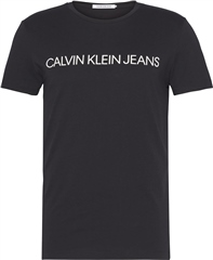 Black - Institutional Logo T-Shirt by Calvin Klein Jeans