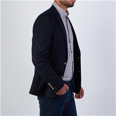 Herbie Frogg Navy - Honeycomb Tailored Blazer